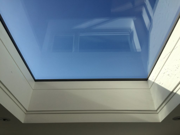 Sky light in Leicestershire Extension