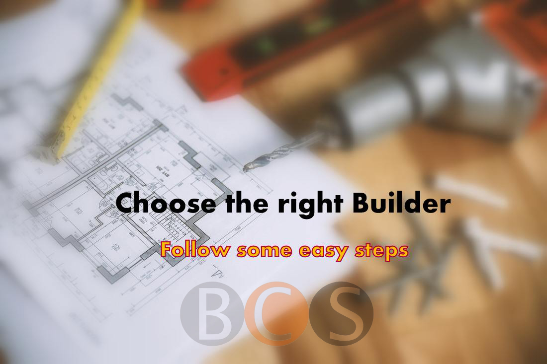 steps to find builders
